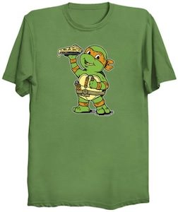 TMNT Little Michelangelo T-Shirt