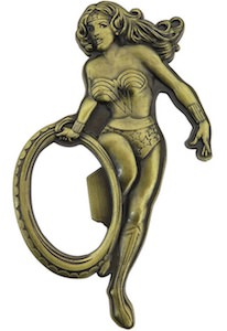 Metal Wonder Woman Bottle Opener