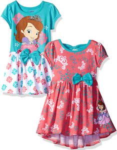 Two Little Girls Sofia The First Dresses