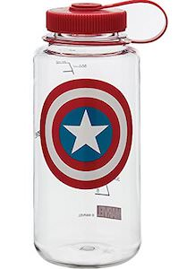 Captain America Nalgene Bottle