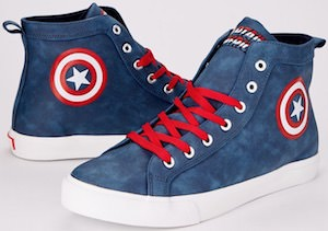 Captain America High Top Sneakers