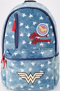 Denim Wonder Woman Backpack