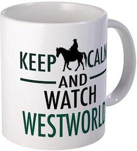Keep Calm Watch Westworld Mug