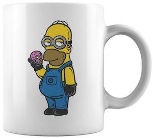 Minion Homer Simpson Mug