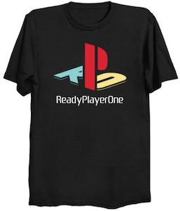 Ready Player One Video Game Logo T-Shirt