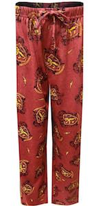 Red Gryffindor Lounge Pants