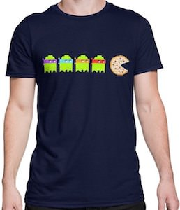 TMNT Pizza Pac Man T-Shirt