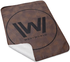 WestWorld Logo Blanket