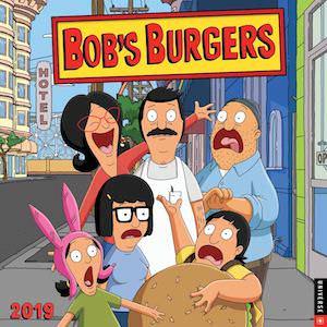 2019 Bob's Burgers Wall Calendar