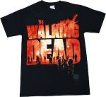 Burning The Walking Dead Logo T-Shirt