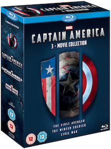 Captain America 3 Movie Set