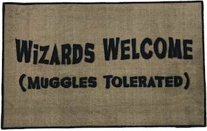 Harry Potter Wizards Welcome Doormat