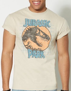Jurasic Park Log T-Shirt
