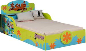 Kids Scooby-Doo Bed