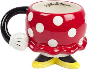 Minnie Mouse Skirt Mug