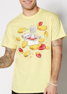 Rick And Morty Hot Sauce T-Shirt