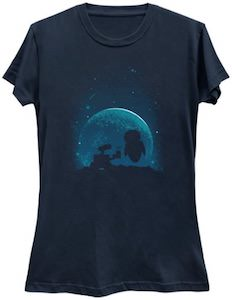 Wall-E Gives Eve Flowers T-Shirt