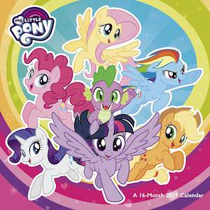 My Little Pony Wall Calendar