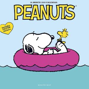 2019 Peanuts Happiness Is Wall Calendar