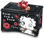black Betty Boop Music Box