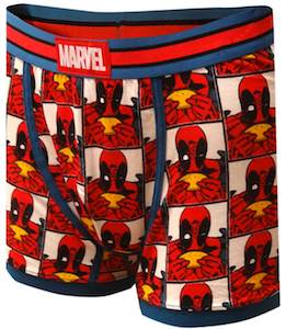 Deadpool Eating A Taco Boxer Shorts