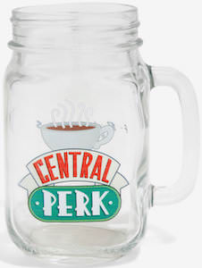 Friends Central Perk Mason Jar Mug