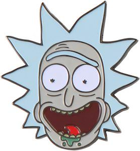 Happy Rick Pin