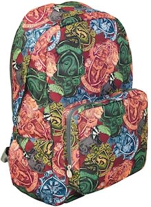 Harry Potter Colorful Crest Backpack