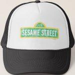 Sesame Street Logo Hat