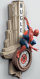 Amazing Spider-Man Daily Bugle Wall Clock