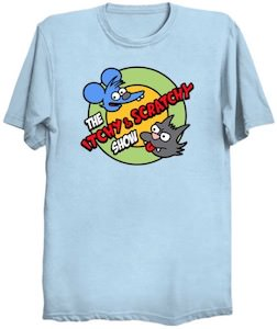 The Itchy & Scratchy Show T-Shirt
