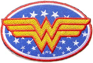 Wonder Woman Clothing Patch