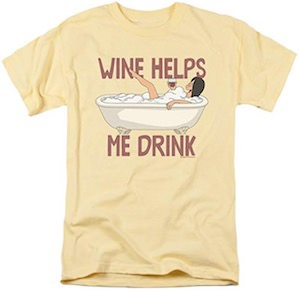 Linda Wine Helps Me Drink T-Shirt