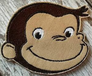 Curious George Patch