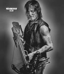 The Walking Dead Daryl And His Bow Blanket