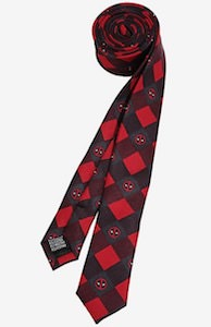 Deadpool Neck Tie