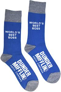 Dunder Mifflin Best Boss Socks