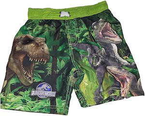 Kids Jurassic World Swim Trunks