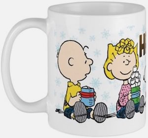 Peanuts Happiness Is Hot Chocolate Mug