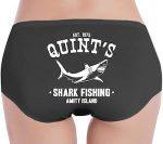 Women's Jaws Quint's Shark Fishing Panties