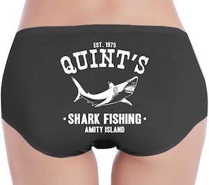 Women's Quint's Shark Fishing Panties
