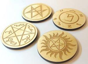 Supernatural Coaster Set