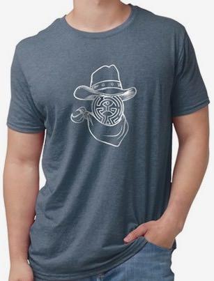 Westworld Maze Cowboy T-Shirt