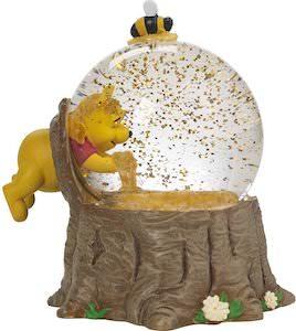 Winnie the Pooh Honey Glitter Globe