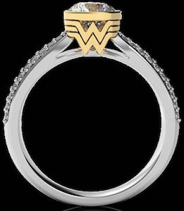 Wonder Woman Engagement Ring