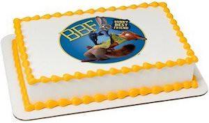 Zootopia Cake Topper Image