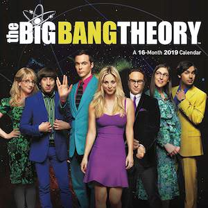 2019 The Big Bang Theory Wall Calendar