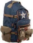 Marvel Captain America Backpack With Lots Of Pockets