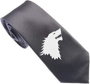 Game of Thrones Direwolf Necktie