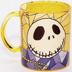 Glass Jack Skellington Mug
